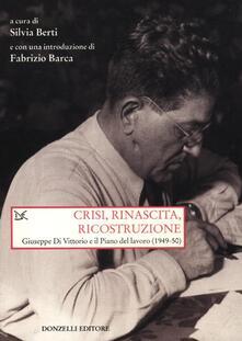 Warholgenova.it Crisi, rinascita, ricostruzione. Giuseppe Di Vittorio e il piano del lavoro (1949-50) Image