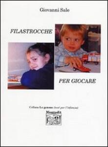 Filastrocche per giocare - Giovanni Sale - copertina
