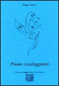 Libro Piume cicaleggianti Diego Greco
