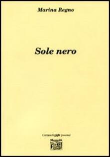 Sole nero - Marina Regno - copertina