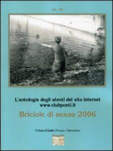 Briciole di senso 2006 - copertina