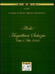 Antologia Arché Anguillara Sabazia città d'arte 2006 - copertina