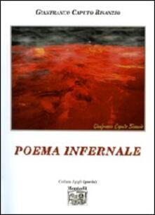 Poema infernale - Gianfranco Caputo Bisanzio - copertina