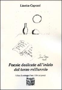 Poesie dedicate all'inizio del terzo millennio