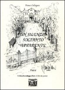 Un silenzio soltanto apparente - Franco Callegaro - copertina
