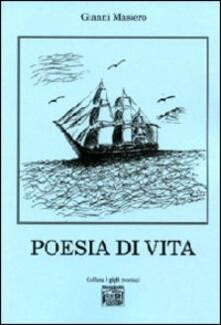 Poesia di vita - Gianni Masiero - copertina