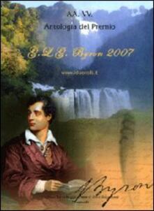 Antologia del Premio G. L. G. Byron 2007 - copertina