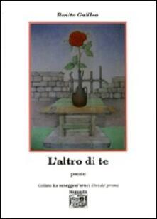 L' altro di te - Benito Galilea - copertina
