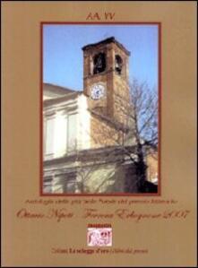 Antologia delle più belle poesie del premio letterario Ottavio Nipoti Ferrara Erbognone 2007 - copertina