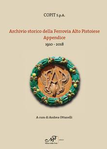 Winniearcher.com Archivio storio della Ferrovia Alto Pistoiese. Appendice. 1910-2018 Image