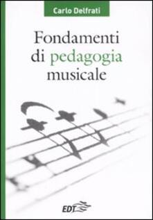 Recuperandoiltempo.it Fondamenti di pedagogia musicale Image