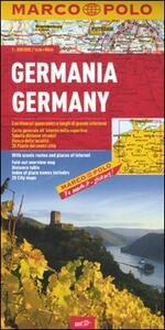 Germania 1:800.000. Ediz. multilingue