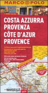 Costa Azzurra, Provenza 1:200.000. Ediz. multilingue