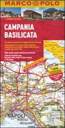 Premioquesti.it Campania, Basilicata 1:200.000. Ediz. multilingue Image