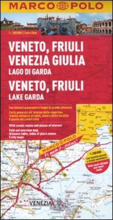 Criticalwinenotav.it Veneto, Friuli Venezia Giulia, Lago di Garda 1:200.000. Ediz. multilingue Image