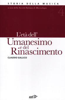 Steamcon.it Storia della musica. Vol. 4: L'età dell'Umanesimo e del Rinascimento. Image