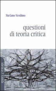 Lettere e lettori. Questioni di teoria e critica per i principianti