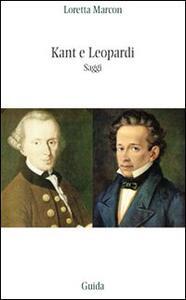 Kant e Leopardi