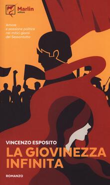 La giovinezza infinita - Vincenzo Esposito - copertina