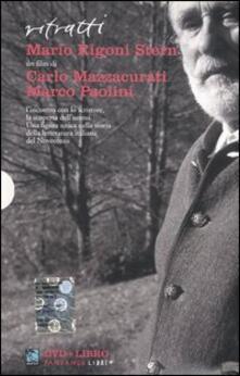 Ritratti. Mario Rigoni Stern. DVD. Con libro - Carlo Mazzacurati,Marco Paolini - copertina