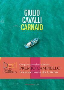 Carnaio - Giulio Cavalli - copertina
