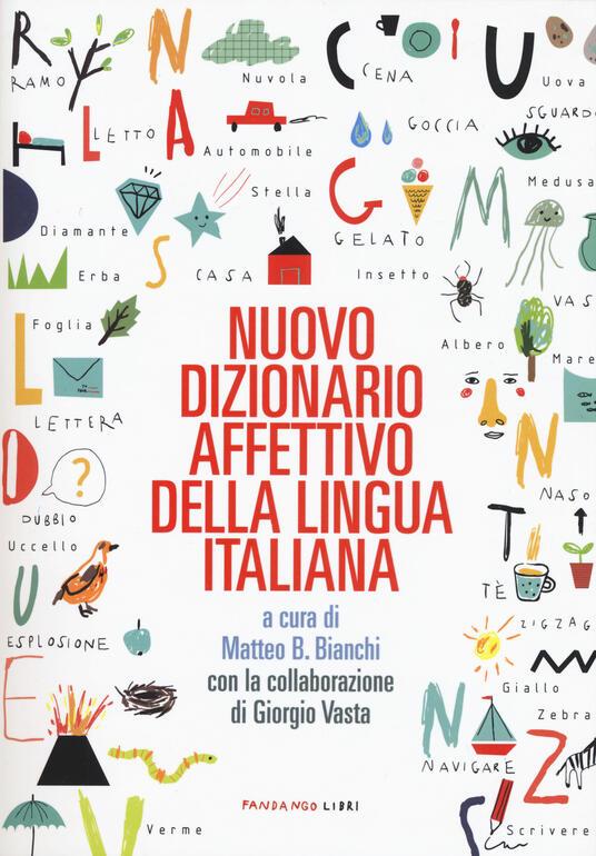 Nuovo dizionario affettivo della lingua italiana - copertina