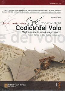 Il codice del volo. Dagli uccelli alle macchine per volare. Ediz. italiana e inglese. Con DVD-ROM