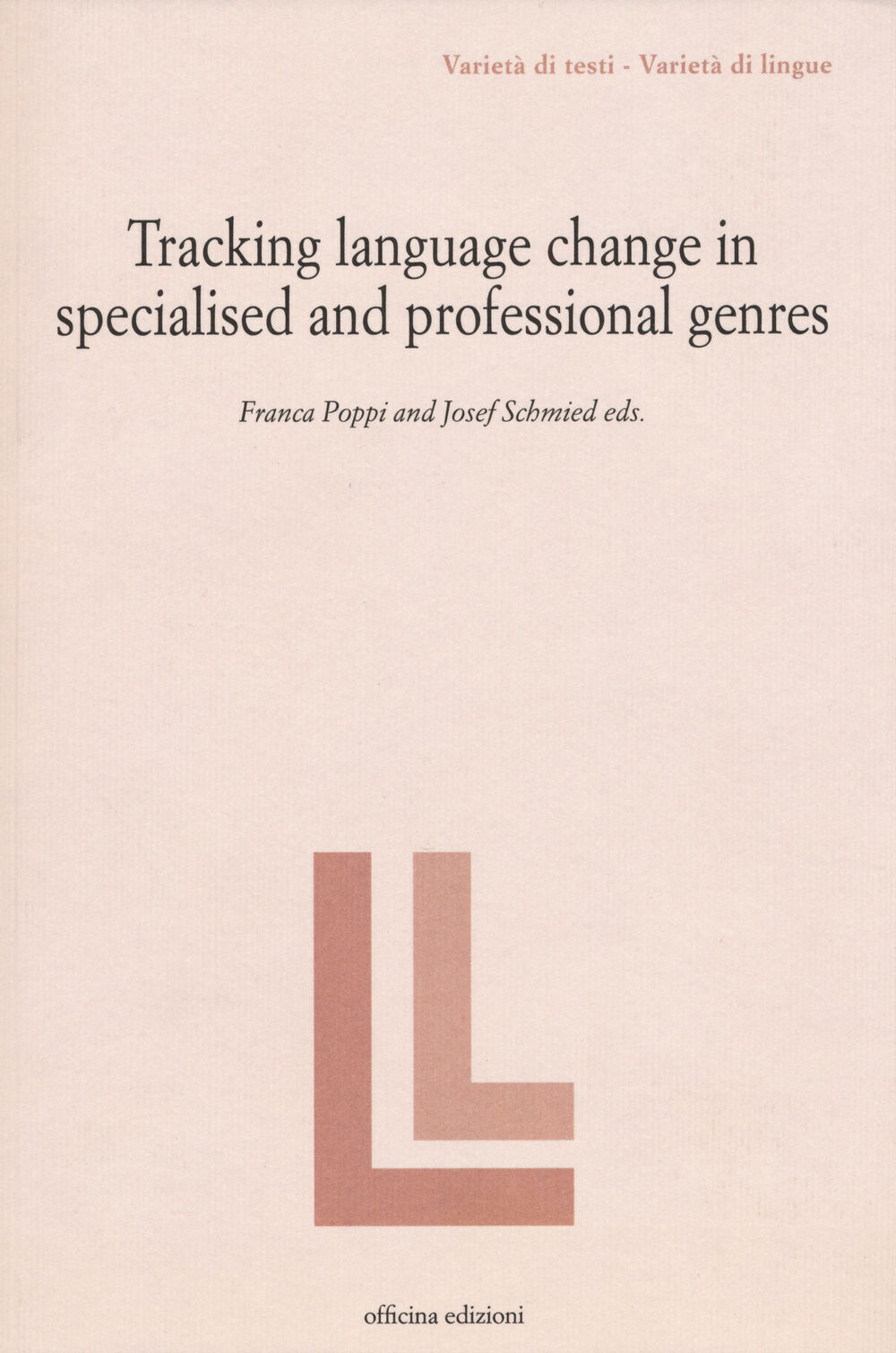 Tracking language change in specialized and professional genres