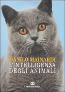 L' intelligenza degli animali - Danilo Mainardi - copertina