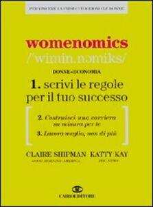 Libro Womenomics Claire Shipman , Katty Kay