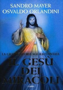 Il Gesù dei miracoli - Sandro Mayer,Osvaldo Orlandini - copertina