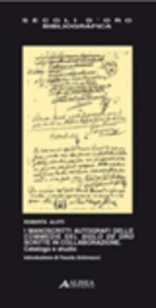 I manoscritti autografi delle commedie del siglo de oro scritte in collaborazione. Catalogo e studio.pdf