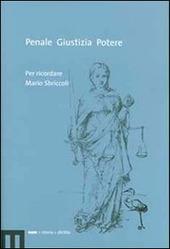 Penale, giustizia, potere. Per ricordare Mario Sbriccoli