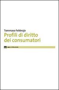 Profili di diritto dei consumatori