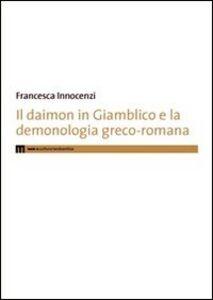 Il daimon in Giamblico e la demonologia greco-romana