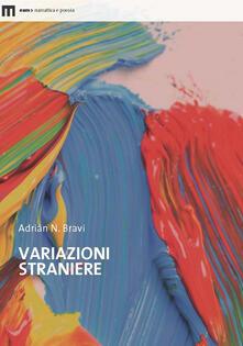 Variazioni straniere - Adrián N. Bravi - copertina