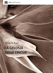 La gelosia delle lingue - Adrián N. Bravi - copertina