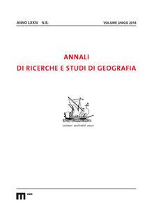 Ascotcamogli.it Annali di ricerche e studi di geografia (2018) Image