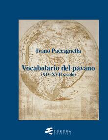 Tegliowinterrun.it Vocabolario del pavano (XIV-XVII secolo) Image