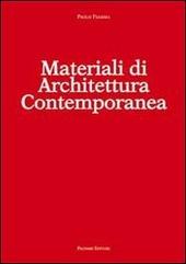 Materiali di architettura contemporanea