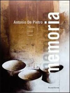 Libro Memoria Antonio De Pietro