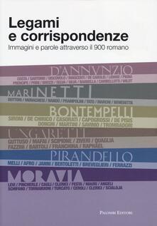 Legami e corrispondenze. Immagini e parole attraverso il 900 romano - copertina