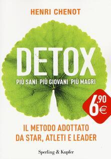 Writersfactory.it Detox. Più sani, più giovani, più magri Image