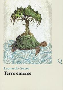 Terre emerse - Leonardo Guzzo - copertina