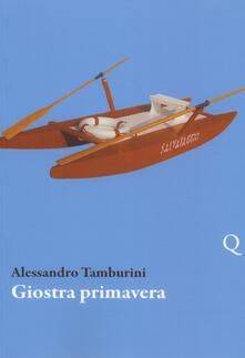 Giostra primavera - Alessandro Tamburini - copertina