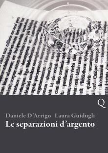 Le separazioni d'argento - Daniele D'Arrigo,Laura Guidugli - copertina