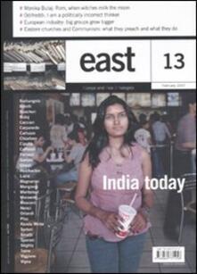 East. Vol. 13: India today. - copertina