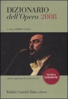 Mercatinidinataletorino.it Dizionario dell'opera 2008 Image