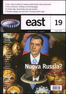 East. Vol. 19