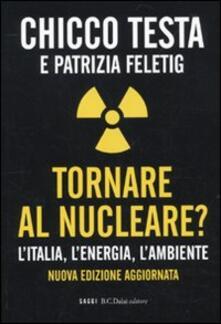 Camfeed.it Tornare al nucleare? L'Italia, l'energia, l'ambiente Image